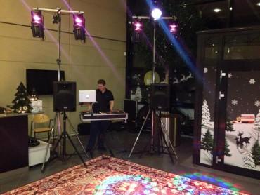 Mellem løsning inkl. 4 timers DJ & Disko lys.